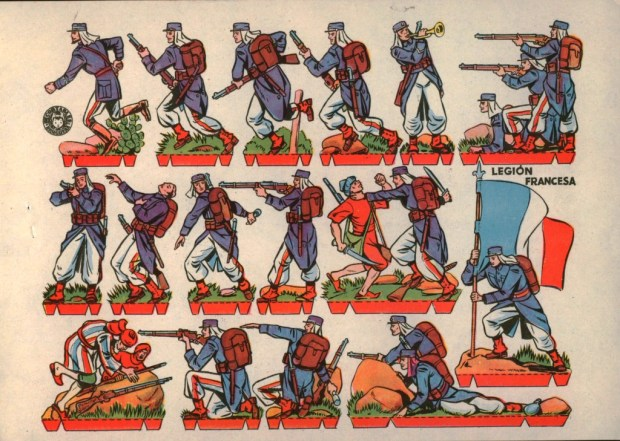 Bruguera Legion Francesa