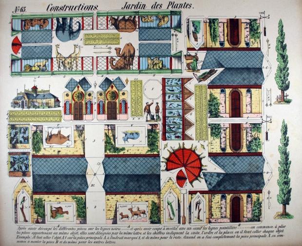 Constructions. Jardin des Plantes. [Nancy] Nº65 E.Ferry Nancy [F]