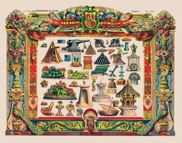 1158 D.T.Fachada. Lit. Hijos de Paluzie. BCN 1901