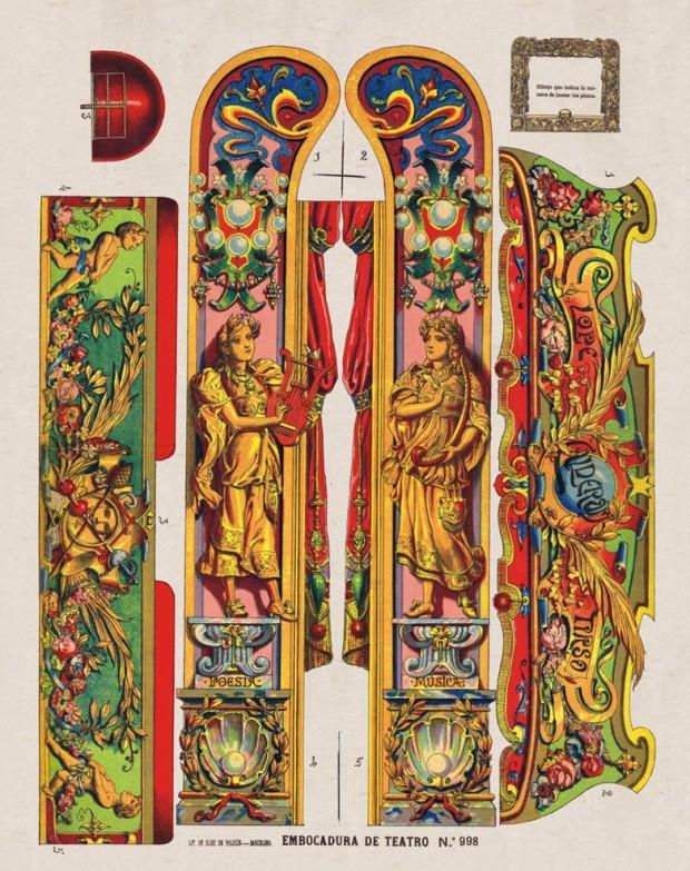 998 Embocadura de Teatro Lit. de Hijos de Paluzie. BCN (1901)