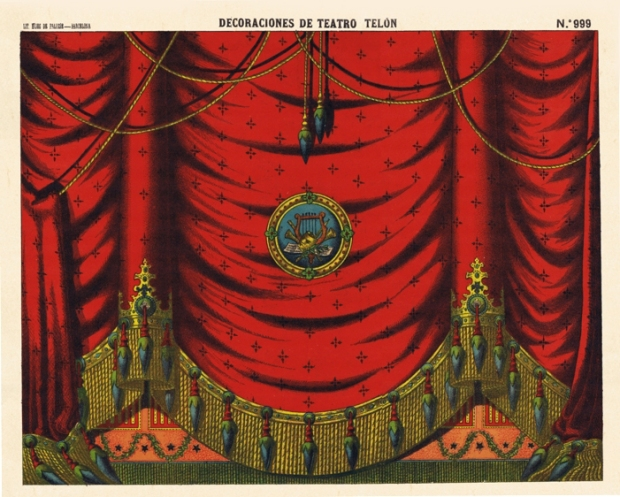 999 D.T. Telón Lit. de Hijos de Paluzie BCN (1901)