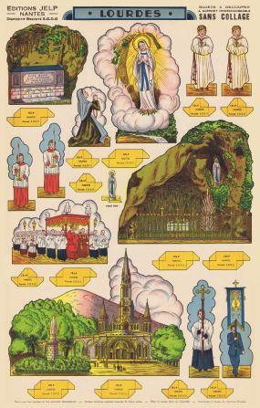 1.Lourdes.-Editions-Jelp-Nantes-[F]-ca.1950