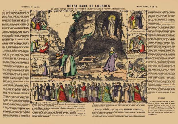 1873.-Notre-Dame-de-Lourdes.-Imagerie-d'Épinal-[F]-ca.1890