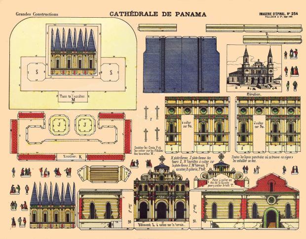Épinal.-Nº254-Cathédrale-de-Panama.-GCP&C.[F]-1880