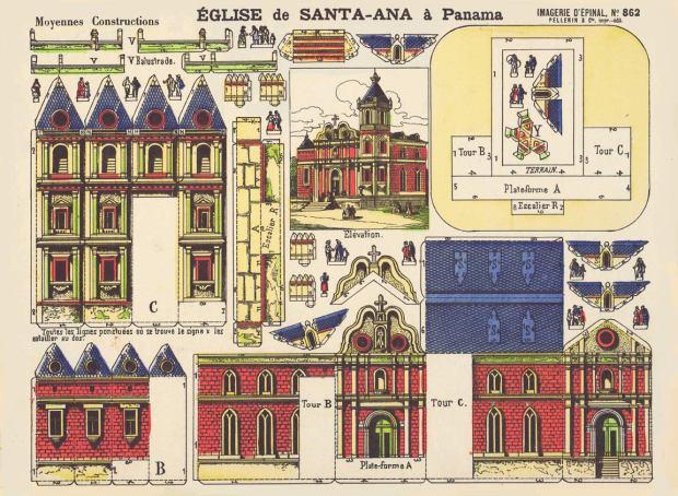 Épinal.-Nº862-Église-de-Santa-Ana-à-Panama.-IEP&C-[F]-1884