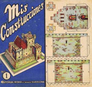 Nº-1-[Castell]-Mis-Construcciones.-Ed.-Roma-.-Barcelona-[CAT]-1942.