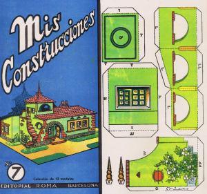 Nº7.-[Xalet-amb-mirador]-Mis-Construcciones.--Ed.-Roma.-Barcelona-[CAT]-1942.