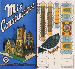 Nº9-[Catedral]-Mis-Construcciones.--Ed.-Roma.-Barcelona-[CAT]-1942.