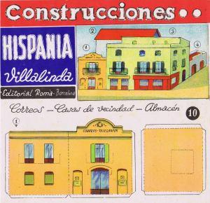 Roma.-10--Correos,-casas-vecindad-y-almacén.-Cons.Hispania-Villalinda