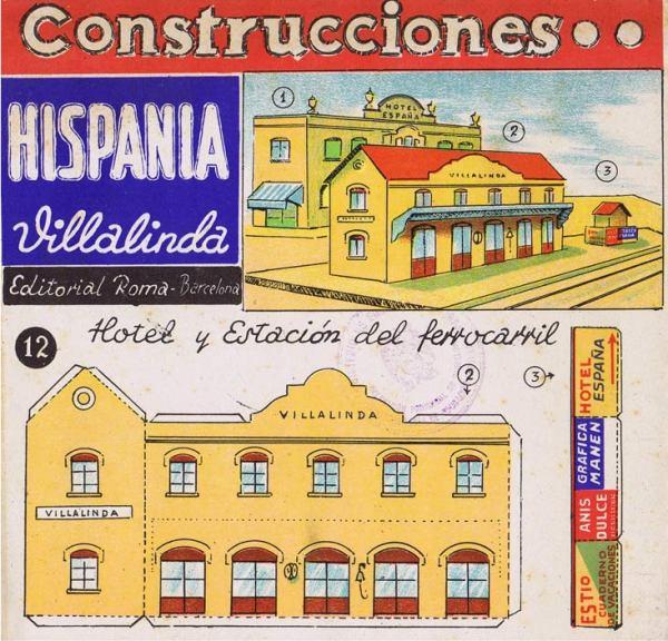 Roma.-12--Hotel-y-Estación-del-ferrocarril.-Cons.Hispania-Villalinda