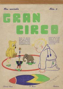 Roma.-Núm.2-ARCA-DE-NOE.-Bloc-Recortable.-Ed.-Roma,-Barcelona-[CAT]-1939