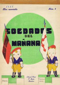 Roma.-Núm.3-SOLDADOS-DEL-MAÑANA.-Bloc-Recortable.-Ed.-Roma,-Barcelona-[CAT]-1939