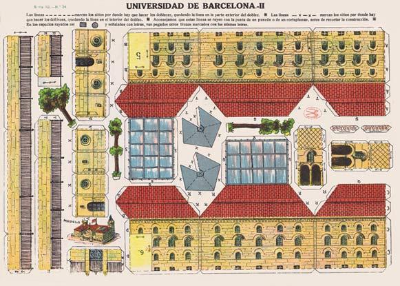 A.-Barcelona.-Nº24-La-Universidad-de-Barcelona-I.-Serie-10.--La-Tijera,-Ed.-Madrid-[E]-ca.1924W