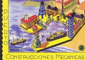 A.-Barcelona.-Nº2-Puerto.-Construcciones-Mecanicas.-Roma,-Ed.-Barcelona-[CAT]-ca.1958