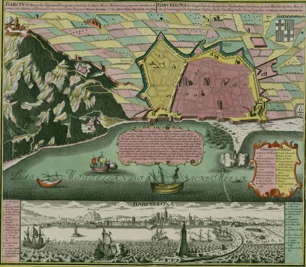 Barcelona-in-1750
