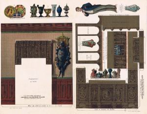 Poupée-Modele,-La-Salle-a-manger.-(3)-F-Paris-ca.1880