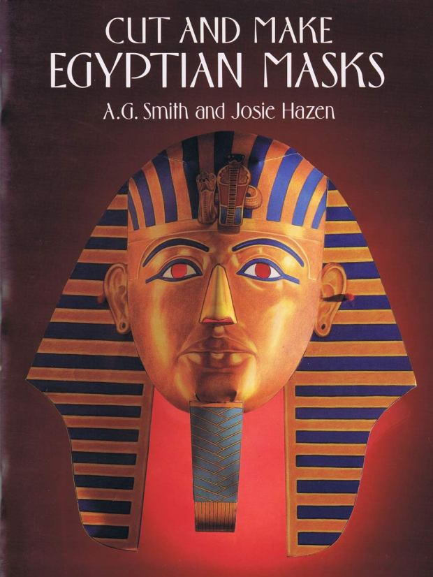 Dover.-EGYPTIAN-MASKS.TUTANKHAMEN.-Dover-Publications,-Inc.-New-York-[USA]-1993