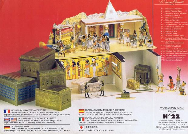 L'Instant-Durable.-Nº-22-TOUTANKHAMON-Égypte.-Ed.L'Instant-Durable-Clermond-Fd.-[F]-1990