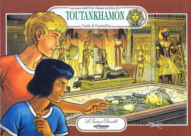 L'Instant-Durable.-Nº-22-TOUTANKHAMON.-(Contraportada)-Égypte.-Ed.L'Instant-Durable-Clermond-Fd.-[F]-1990