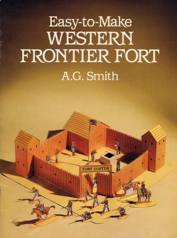 Dover.-WESTERN-FRONTIER-FORT.-USA--Mineola.N.Y.1990