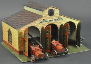 Bing. Fire station