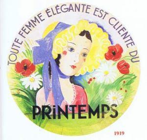 Moda.-l'Instant-Durable.-29-AU-PRINTEMPS,-gran-magasin-du-XIX-siècle.-Paris.-Detall.-Edit.-l'Instant-Durable.-F-Clemont-Fd.1992