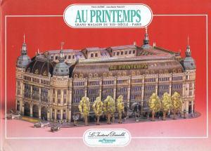 Moda.-l'Instant-Durable.-29-AU-PRINTEMPS,-gran-magasin-du-XIX-siècle.-Paris.-Edit.-l'Instant-Durable.-F-Clemont-Fd