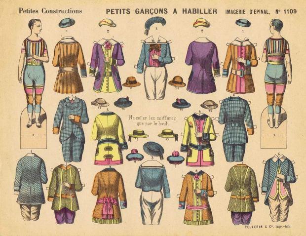 Moda.-Pellerin-&-Cie.1109-PETITS--GARÇONS-A-HABILLER-P.C.-Imagerie-d'Épinal-F-Épinal-1875